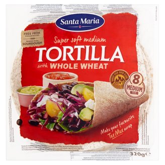 Santa Maria Tortilla with Whole Wheat 320 g