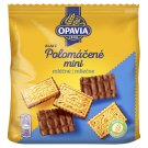 Opavia Zlaté Half Dipped Biscuits with Butter Flavour in Milk Chocolate 145 g