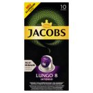 JACOBS Lungo Intenso Intz. 8 - 10 Aluminium Pockets Compatible with Coffee Maker Nespresso® disc.