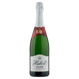 Hubert Club Quality Sparkling Semi-Sweet White Wine 0.75 L