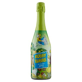 Robby Bubble Non Alcoholic Carbonated Soft Drink with Apple Juice 0.75 L