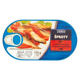 Tesco Sprats in Tomato Sauce 170 g
