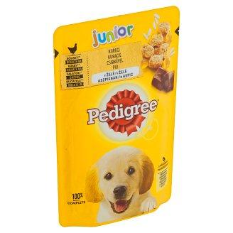 Pedigree Vital Protection Junior 100% kompletná výživa s kuracím mäsom a ryžou v želé 100 g