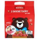 Mistral 2 Fruits Teas for Kids with Strawberry, Raspberry Flavour 2 x 44 g + CD Dorotka z Fidorkova