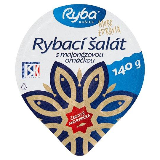 Ryba More Zdravia Fish Salad with Mayonnaise Sauce 140 g