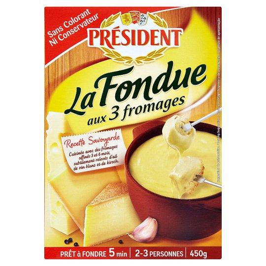 Président Syrové fondue 450 g