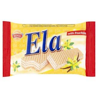 Sedita Ela Oblátky s krémovou náplňou a vanilkovou arómou a fruktózou 40 g