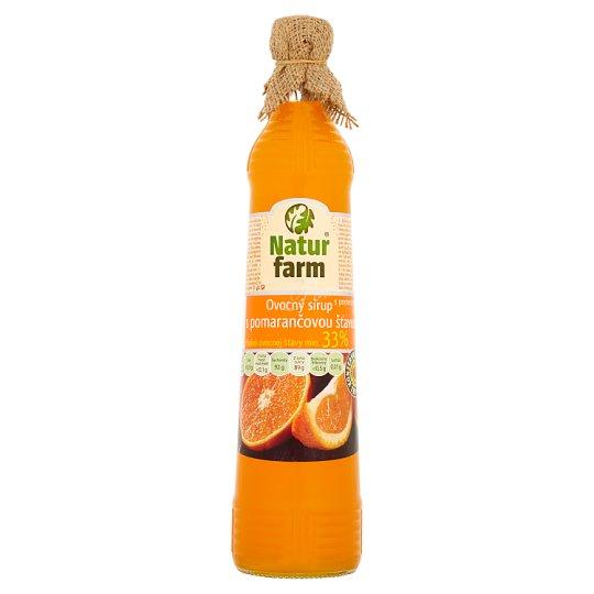 Natur Farm Fruit Syrup with Orange Juice 0.7 L
