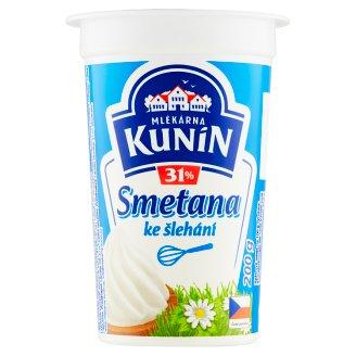 Mlékárna Kunín Whipping Cream 200 g