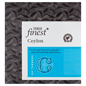 Tesco Finest Black Tea Portioned 50 Bags 125 g