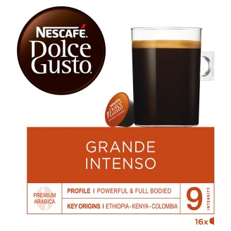 NESCAFÉ Dolce Gusto Grande Intenso - káva v kapsulách - 16 kapsúl v balení