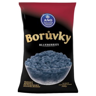 ANO Blueberries Deep-Frozen 350 g