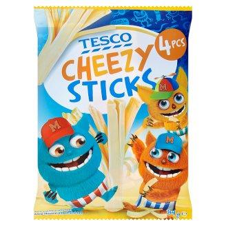 Tesco Cheezy Sticks tavený syr 84 g