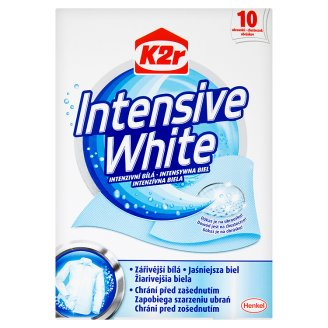 K2r Intensive White 10 Wipes