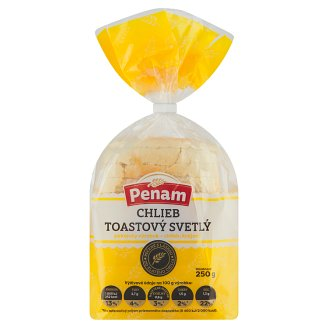 Penam Toasted Light Bread 250 g