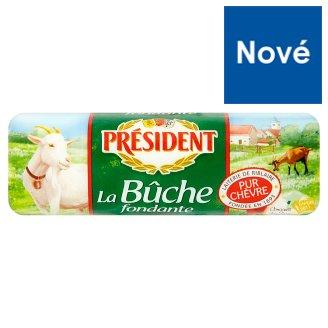 Président La buche fondante kozí plnotučný syr 180 g