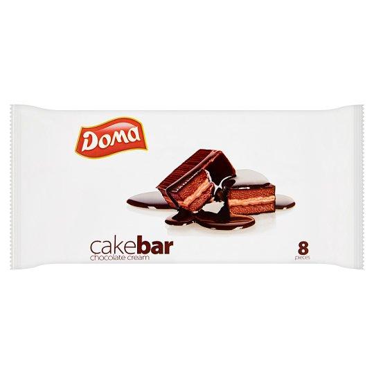 Doma Minicakebar Cocoa Sponge with Cocoa Filling with Cocoa Glazed 8 x 32 g