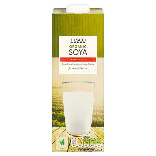 Tesco Bio sójový nápoj 1 l