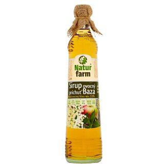 Natur Farm Elderberry Syrup Fruity Flavour 0.7 L