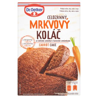 Dr. Oetker Wholemeal Carrot Cake with Flax Seeds 500 g