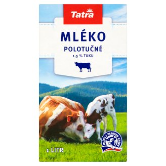 Tatra Trvanlivé polotučné mlieko 1 l
