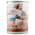 Tesco Pet Specialist Kúsky s lososom a treskou v želé 415 g