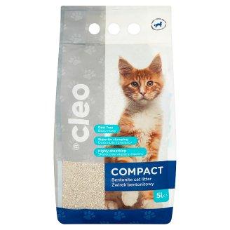 Cleo Compact Bentonite Clumping Cat Litter 5 L