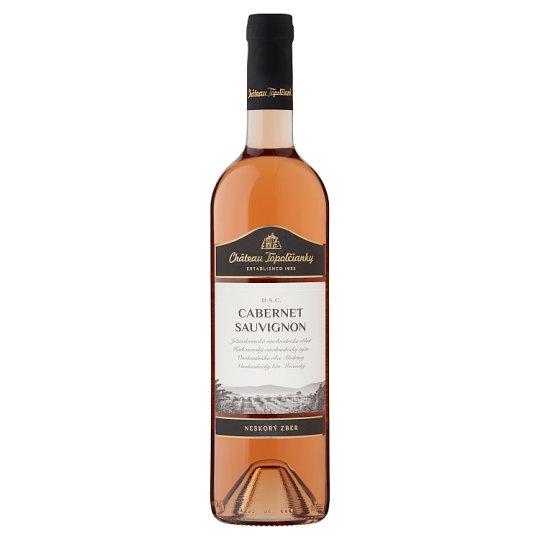 Château Topoľčianky Cabernet Sauvignon slovenské akostné víno D.S.C. polosuché ružové 0,75 l