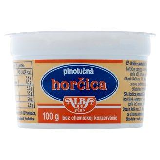 Alba Plus Horčica plnotučná 100 g
