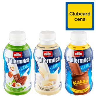 Müller Müllermilch Milk Drink with Chocolate-Nut Flavour 400 g