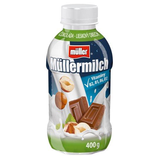 Müller Müllermilch Milk Drink with Chocolate-Hazelnut Flavour 400 g