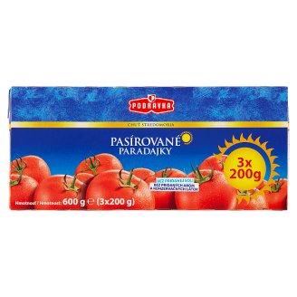 Podravka Tomato Paste 3 x 200 g