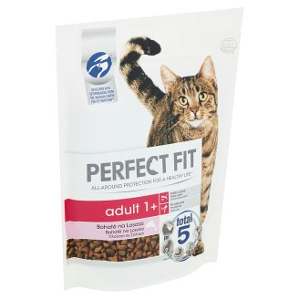 Perfect Fit Adult 1+ Complete Food for Adult Cats Salmon 750 g
