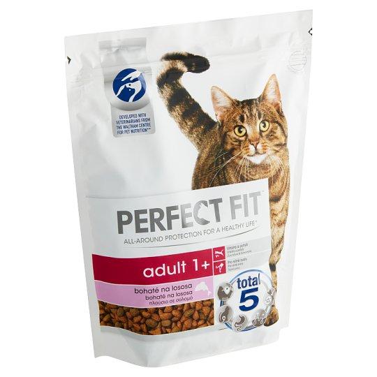Perfect Fit Adult 1+ kompletné krmivo pre dospelé mačky losos 750 g