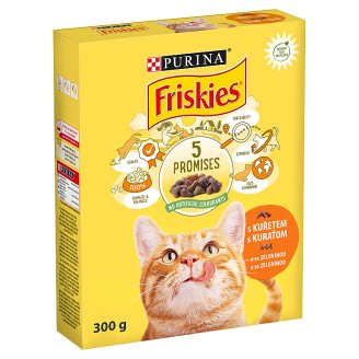 FRISKIES with Chicken and with Vegetable 300 g