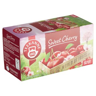 TEEKANNE Sweet Cherry, World of Fruits, 20 vrecúšok, 50 g