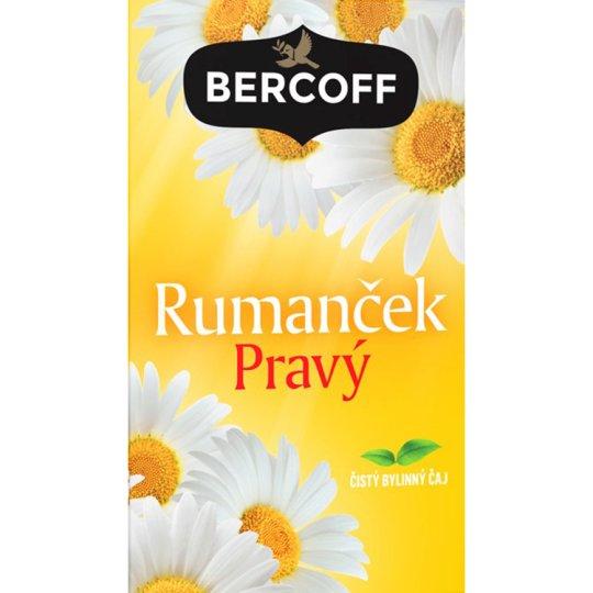 Bercoff Klember Herbal Rumanček pravý čistý bylinný čaj 20 x 1,5 g