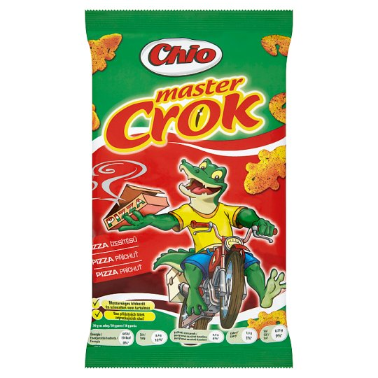 Chio Master Crok Corn Snack with Pizza Flavour 40 g