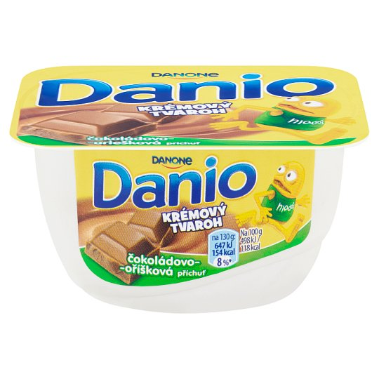 Danone Danio Creamy Curd Chocolate-Nut Flavour 130 g