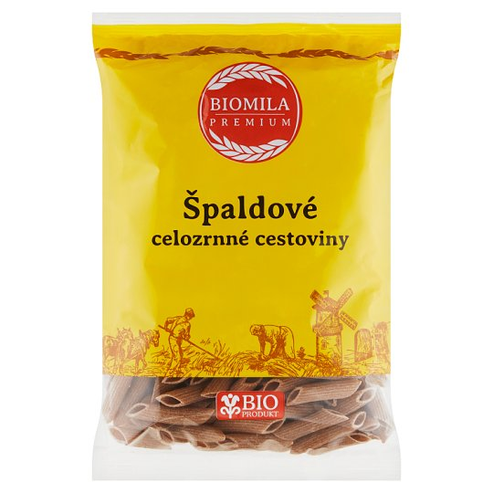 Biomila Spelled Wholemeal Pasta Penne 400 g