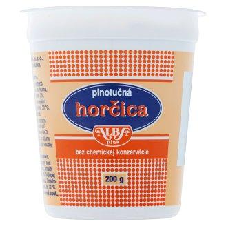Alba Plus Horčica plnotučná 200 g