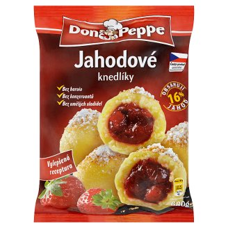 Don Peppe Strawberry Dumplings Deep- Frozen 680 g