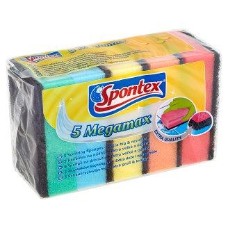 Spontex Megamax špongie na drhnutie 5 ks