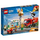 LEGO City Fire Burger Bar Fire Rescue 60214