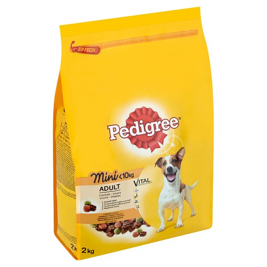 Pedigree Vital Protection Mini Complete Feed for Adult Dogs of Small Breeds 2 kg