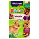 Vitakraft Kräcker Trio-Mix Rabbit - Vegetables & Walnut & Berries 3 x 56 g