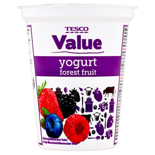 Tesco Value Forest Fruit Yogurt 330 g