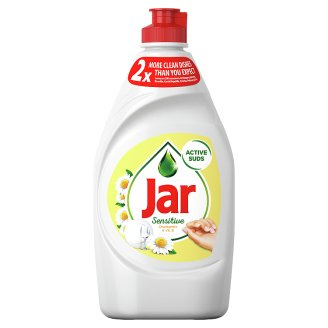 Jar Sensitive Chamomile & Vitamin E prostriedok na umývanie riadu 450 ml