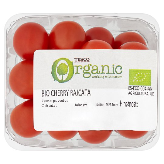 Tesco Organic Bio Cherry Tomatoes 250 g