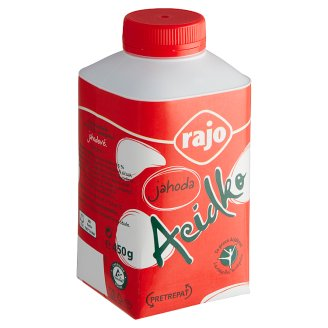 Rajo Acidko Zakysané mlieko jahoda 450 g